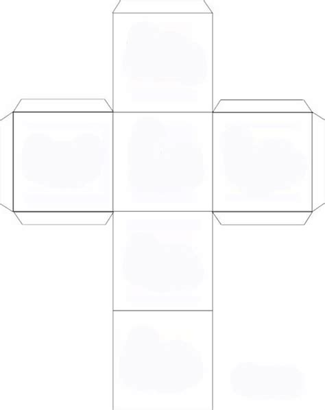 printable large dice template 4 best images of printable dice cubes cube template