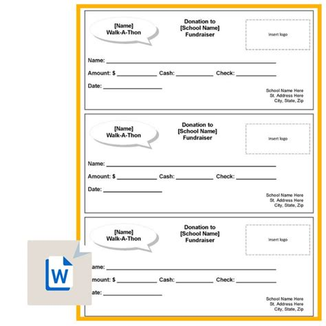 Walk A Thon Sponsor Sheets Zoro Blaszczak Co Hit A Thon Fundraiser Template