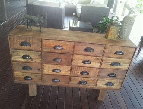 rustic industrial chest of drawers handmade rustic vintage industrial pigeon hole sideboard