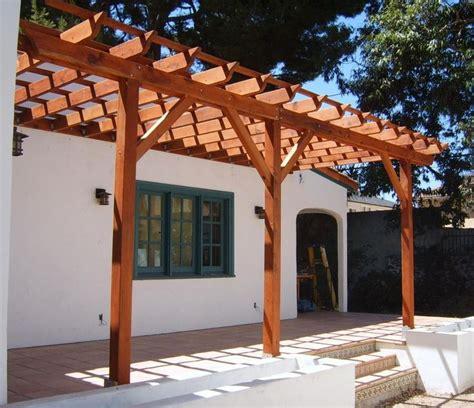 pergola attached  house outdoor pergola building
