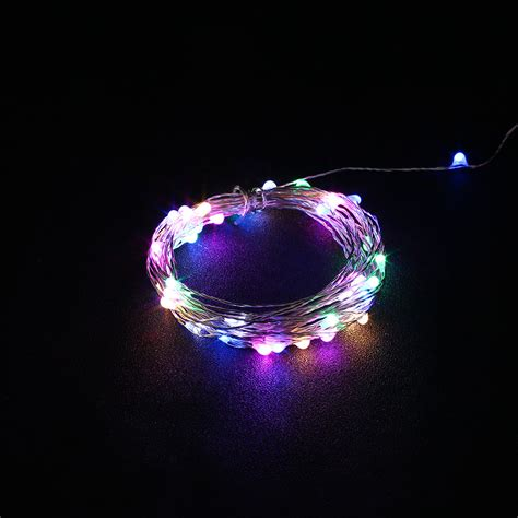 outdoor 5m usb christmas copper cord 50 led strip string