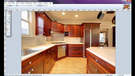 picture of kitchen how to draw a kitchen with free software 2 of 8 youtube