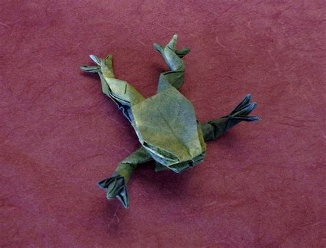 Origami Tree Frog - origami hibians page 4 of 4 gilad s origami page