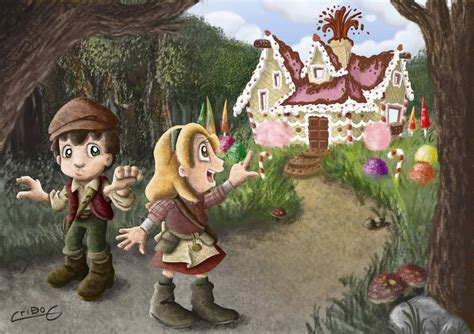 hansel y gretel hansel and hansel y gretel hansel and gretel by cristiandrawing on
