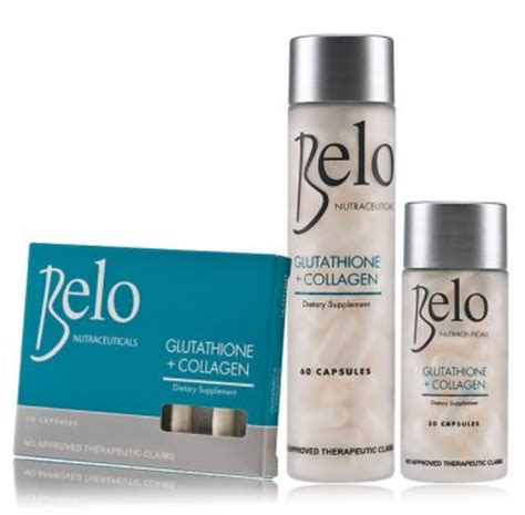 Collagen Bleaching Whitening fresh belo nutraceuticals glutathione collagen whitening