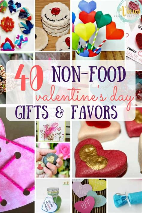 non food gifts 40 non food valentines for favors and gifts views from a