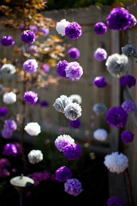 Handmade Tissue Paper Flowers -