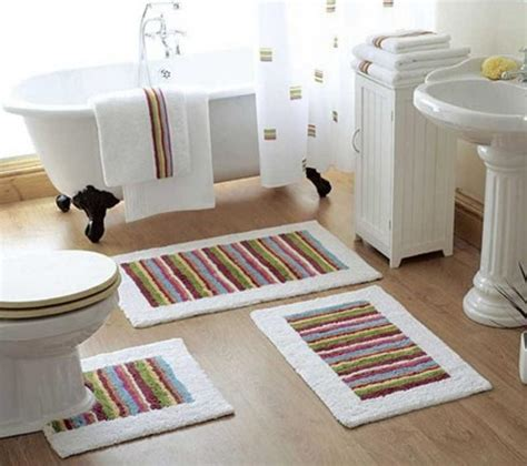 bathroom throw rugs 10 interesting and fun bathroom area rugs rilane