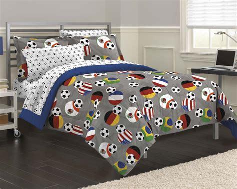 Soccer Bedding Sets by New Soccer Fever Tween Bedding Comforter Sheet