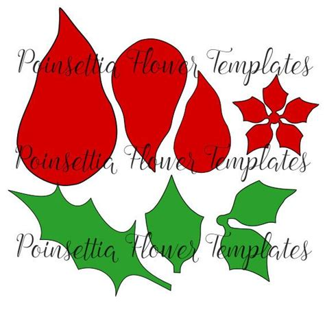Paper Poinsettias Made From Recycled Cards Template by Best 25 Poinsettia Flower Ideas On Neutral