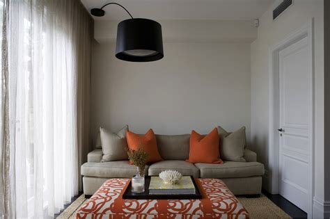 Beige And Orange Living Room by Orange And Beige Living Room Living Room