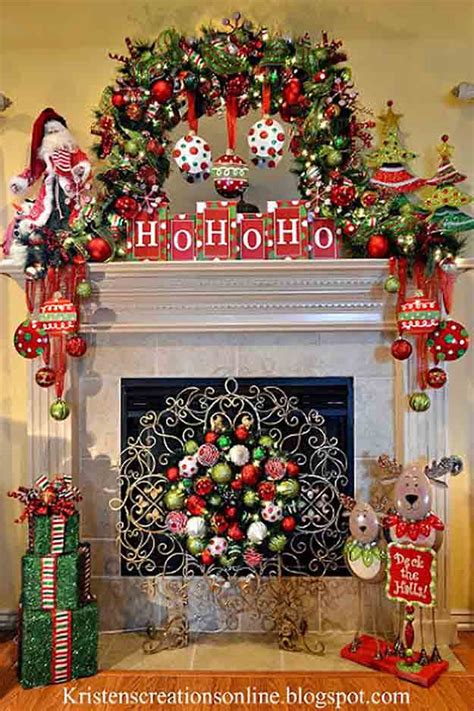 best christmas mantel decor diy ready