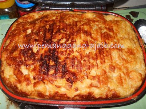 Wajan Pemanggang Roti Bakar resepi puding roti dengan sos kastard resepi pemanggang