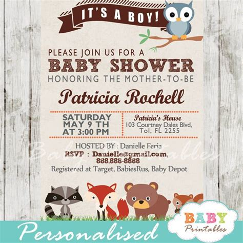 baby animals baby shower theme best 25 forest baby showers ideas on woodland
