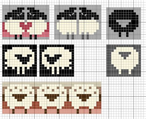 pattern paper for knitting knit lamb pattern google search knitting graph designs
