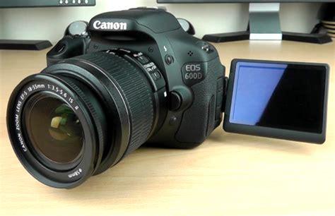 Kamera Dslr Canon Tahun spesifikasi kamera canon 600d harga dan spesifikasi