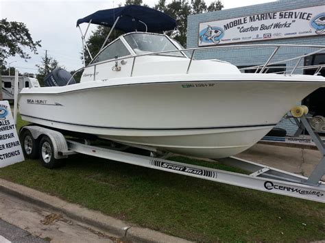 sea hunt boats for sale in mississippi 2008 seahunt victory 207 powerboat for sale in mississippi