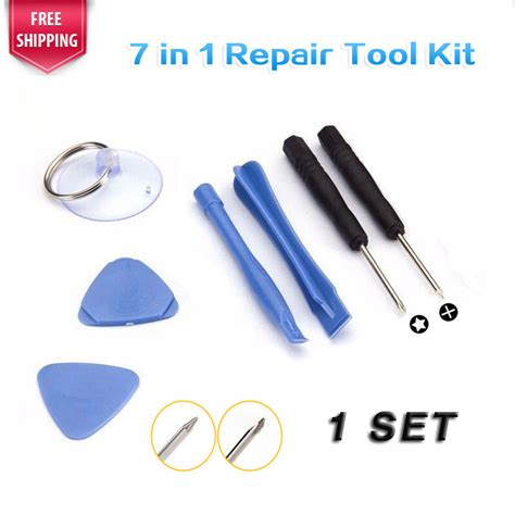 Repair Opening Tools Kit Set For Iphone 4566 Plus Repair Kit 1 set 7 in 1 cell phone opening pry repair tool kit screwdrivers disassembly tools for iphone 4