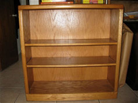 3 Foot High Bookcase 2 Shelf Oak Bookcase 3 Wide 3 High 13 Inches