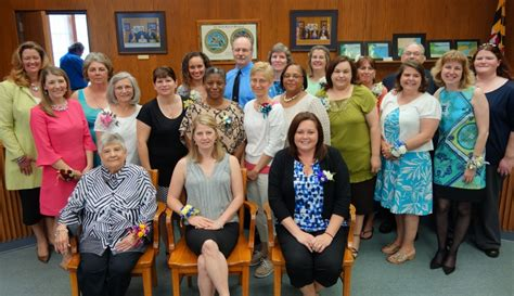 Calvert County Schools Calendar Calvert Schools Recognizes Volunteers Of The Year