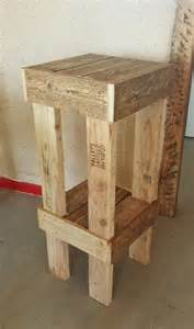Rustic Bar Stool Plans Best 25 Pallet Stool Ideas On Pallet Bar