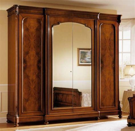 wooden wardrobe designs with mirror www imgkid the