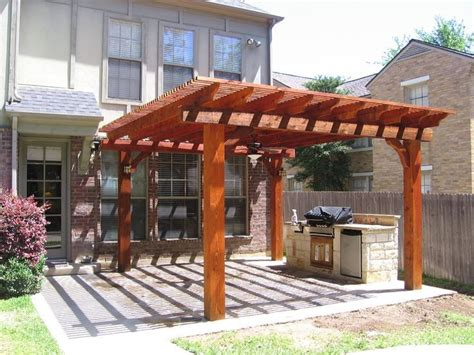 sted concrete patio with trellis grow a better garden