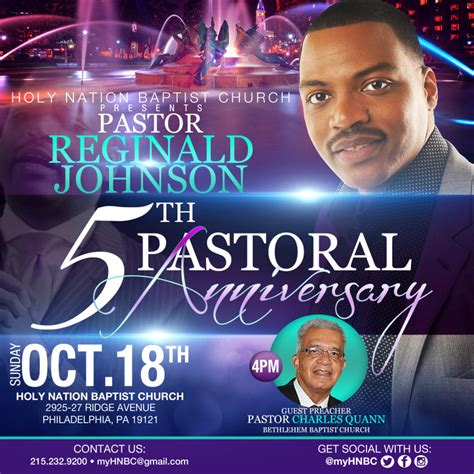 Flyer Design Emh Graphics Pastor Anniversary Flyer Free Template