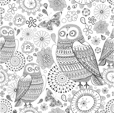 wonderful owls coloring book for adults and stress reduction combining nature poetry and for relaxation meditation and creativity volume 2 books therapy kleuren voor volwassenen noadonna