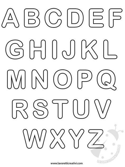 lettere dell alfabeto da ritagliare pin lettere dellalfabeto e numeri da stare colorare
