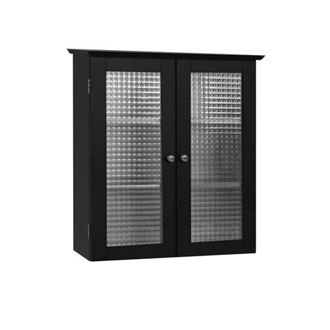 Black Bathroom Storage Cabinet Foremost Naples 26 1 2 In W X 32 3 4 In H X 8 In D Bathroom Storage Wall Cabinet In White