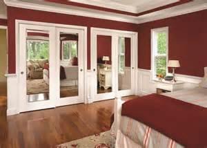 mirror closet doors for bedrooms closet doors interior doors and closets