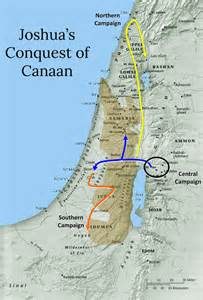joshua map history in the bible podcast the conquest of canaan