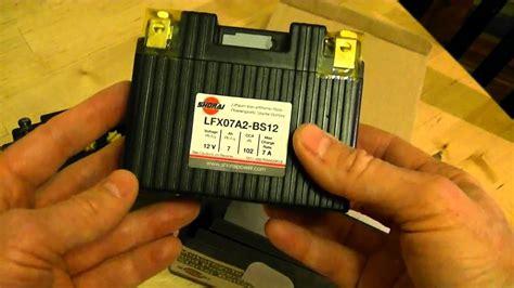 Motorrad Batterie Gewicht by Shorai Lightweight Motorcycle Battery Review