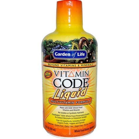 Garden Of Products Garden Of Vitamin Code Liquid Multivitamin Orange