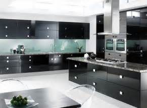 Black Cabinet Kitchen Designs Modern Black Kitchen Cabinets Modern Kitchen Designs