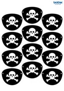 pirate eye patch template printable pirate decorations supplies free