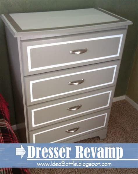 How To Refurbish An Dresser by Idea Bottle Painted Dresser Rev