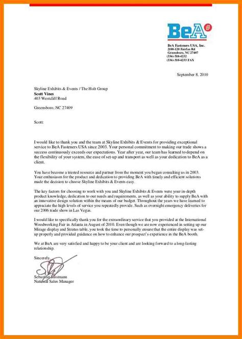 Business Reference Letter For Client doc 12801661 customer reference letter we