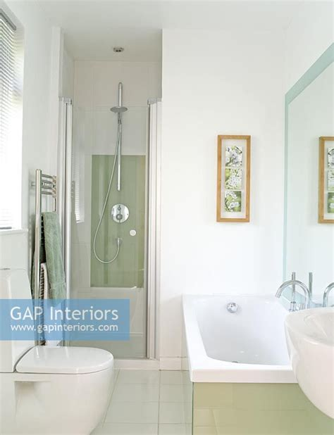 separate bath and shower gap interiors modern bathroom with separate shower and bath image no 0011994 photo by