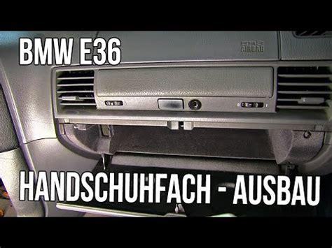 Bmw 1er Innenraumfilter Wechseln by Bmw E36 Handschuhfach Ausbauen German