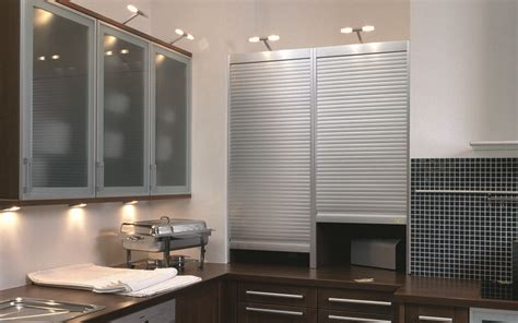 metal tambour doors for cabinets 1000 images about bathroom design on satin