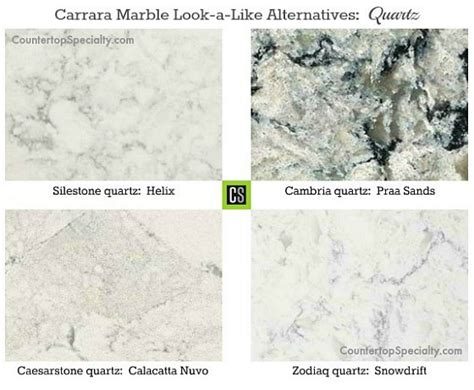 Countertop That Looks Like Marble by Which Granite Looks Like White Carrara Marble