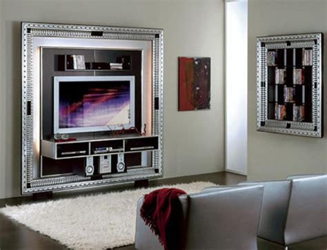 tv media center in a frame deco baroque centers by