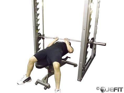 using smith machine for bench press smith machine close grip bench press exercise database