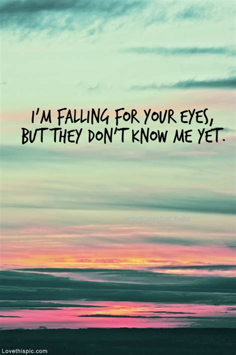 ed sheeran quotes about eyes im falling for your eyes pictures photos and images for