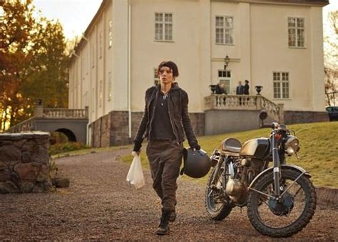 Motorrad Film Verblendung by The Girl With A Dragon Tattoo Bike The Girl With A