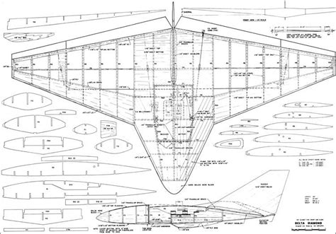 free rc plans delta diamond rc plans aerofred download free model