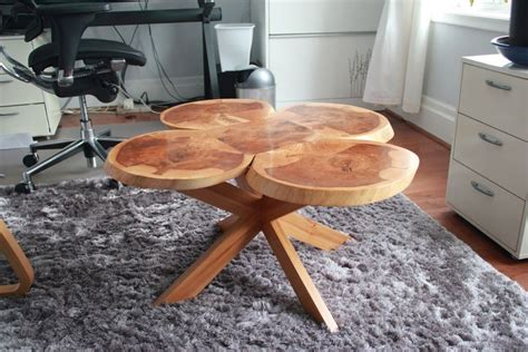 Sliced Log Coffee Table Coffee Table From Log Slices By Daverose Lumberjocks Woodworking Community