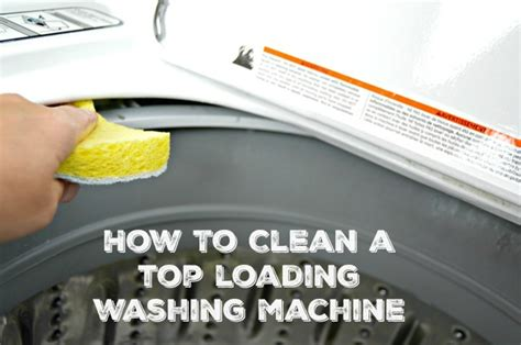 how to clean a washing machine cleaning the inside of how to get a clean washing machine naturally mom 4 real